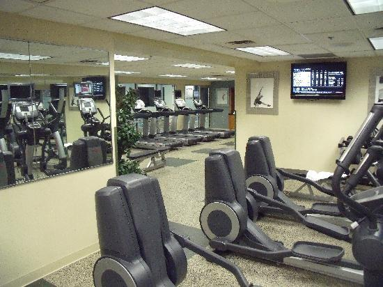 Fitness Center - Picture of Pittsburgh Marriott City Center