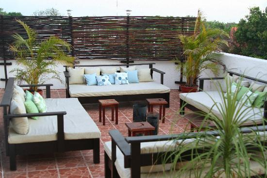 Posada Luna del Sur: Lounge Area
