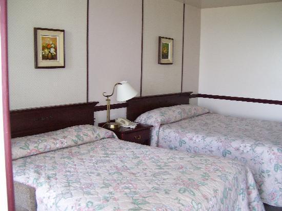 Hotel Cap-aux-Pierres: chambre chalet