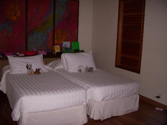Club Med Cherating Beach: The kids room with King Single size beds