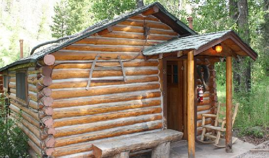 Absaroka Mountain Lodge: One of the cabins