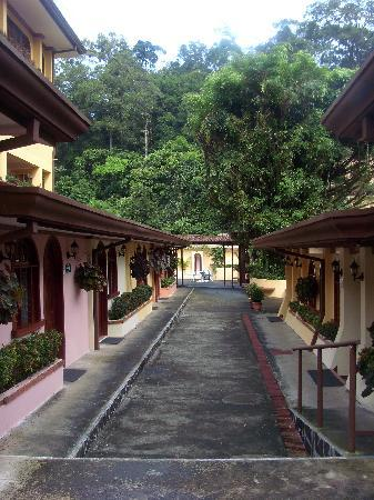 San Carlos, Costa Rica: up the ramp to the spa