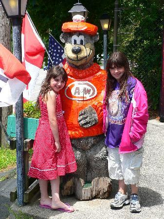 A & W Root Beer Drive-In : Outside A&W