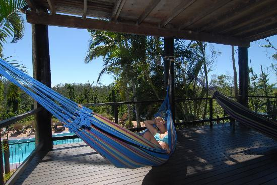 Treehouse Hostel: Hammocks