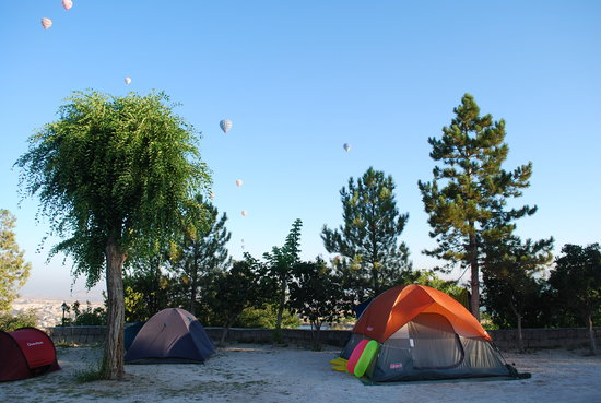 Kaya Camping Caravaning: Kaya Camping Tents, Balloons and Views