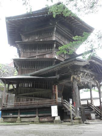 Sazaedo: とにかくユニークな建物です。