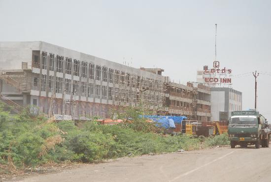 Dahej, India: Extérieur (en construction)
