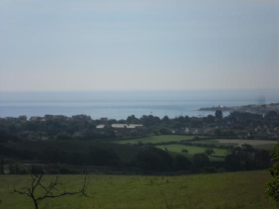 The Castleton: Swanage from a distance