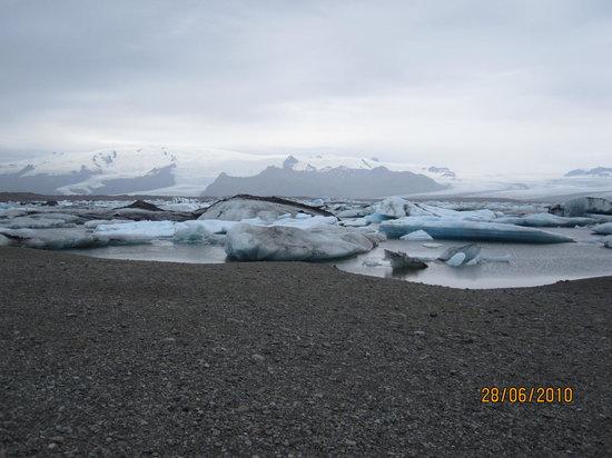 Jokulsarlon, Island: lagoon