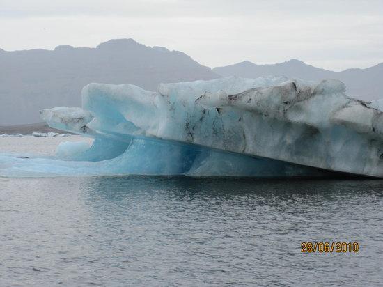 Jokulsarlon, Island: iceberg