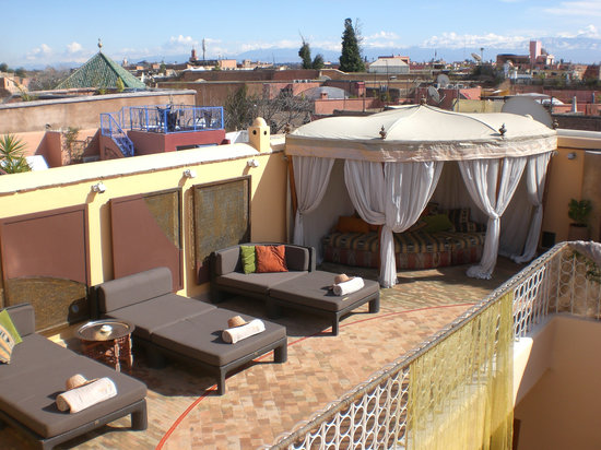 Maison MK: Rooftop terrace