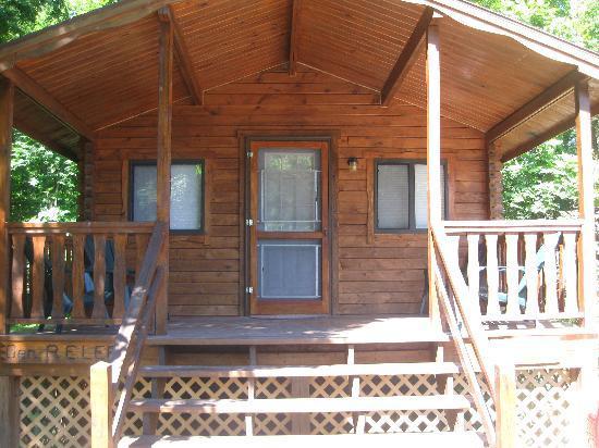 Gettysburg Campground: Front of cottage