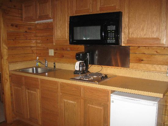 Gettysburg Campground: kitchen area