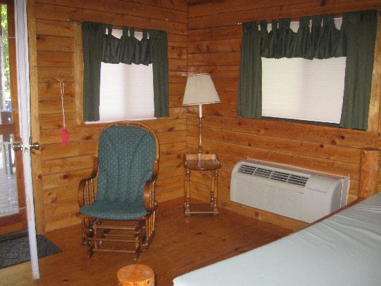 Gettysburg Campground: sitting area