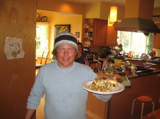 Vineyard View Bed & Breakfast: breakfast - yummi
