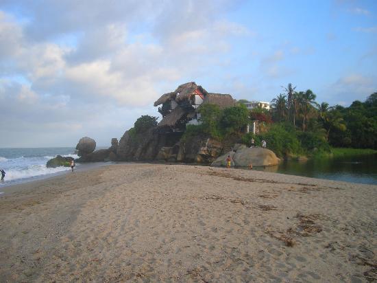 Hotel Barlovento: ansicht von der sandbank her