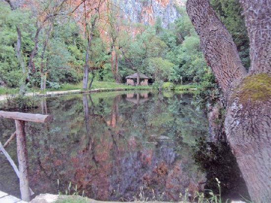 Hotel Monasterio de Piedra & Spa: Estanque de los Espejos