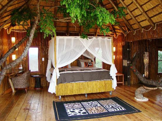 Pezulu Tree House Game Lodge: Interior Dream Treehouse