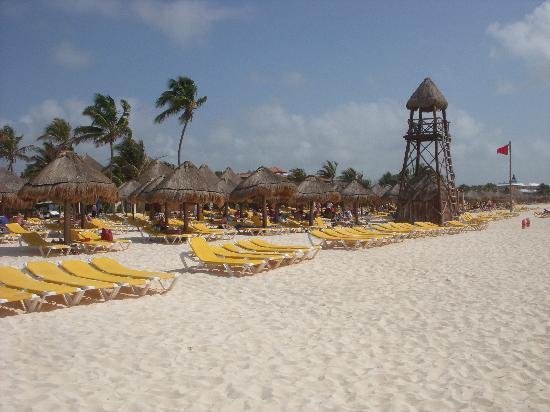Iberostar Paraiso Lindo: plage lindo/maya