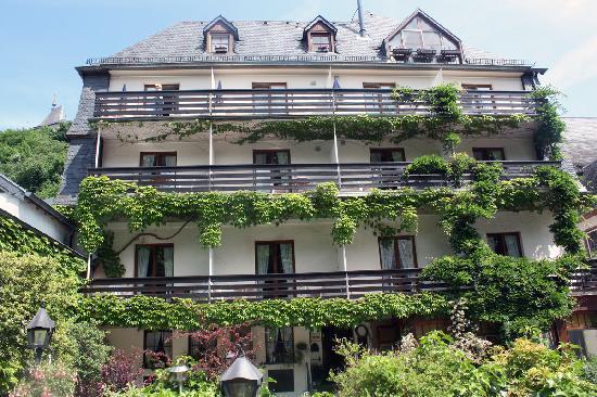 Hotel Heintz: The back of the Heinz hotel.
