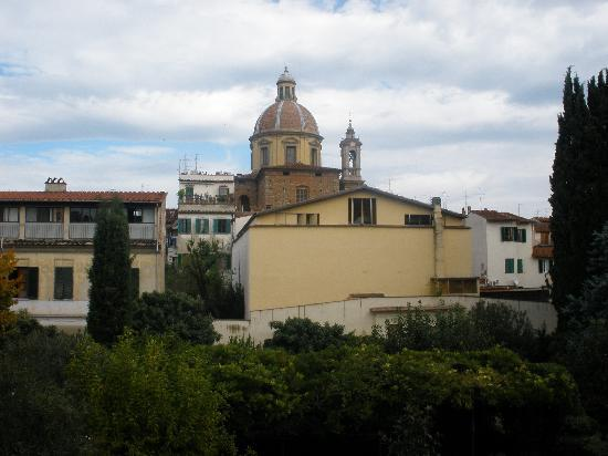 Casa Santo Nome di Gesu: View out my window