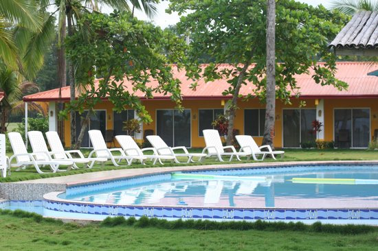 Playa Las Lajas, Panama: Beachfront rooms