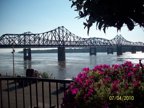 Vicksburg, Μισισιπής: View of the Mighty Mississippi at Ameristar