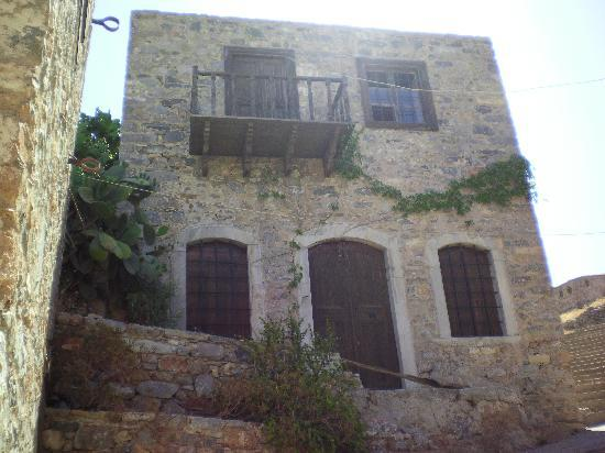 Elounda, Grecia: one of the buildings on island