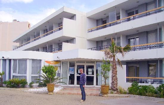 Residenz Maeva Les Cigales de Mer: l'entrée de la résidence