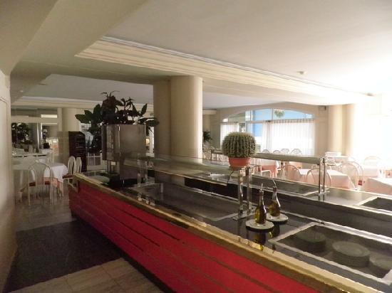 Hotel Augusta Club: salle de restaurant