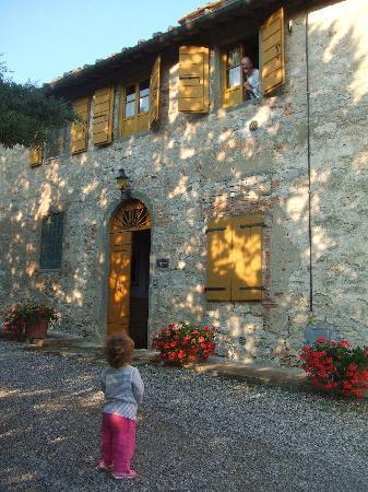 Villa  Vistarenni: Appartamento Togna