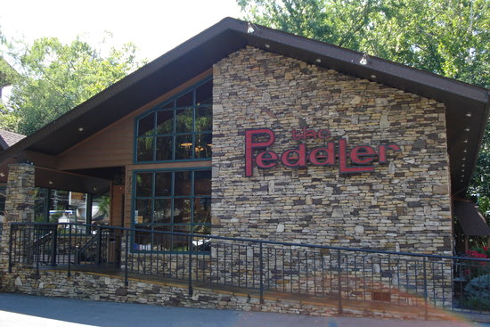 The Peddler Steakhouse: The Peddler, by the river