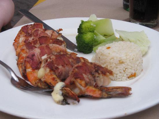 Hotel Playa Mazatlan: Emperor Shrimp!!!