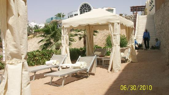 The Royal Savoy Sharm El Sheikh: The very private beach at RS