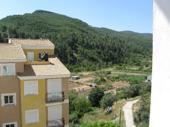 Casa Ovidio: Vistas desde la habitación