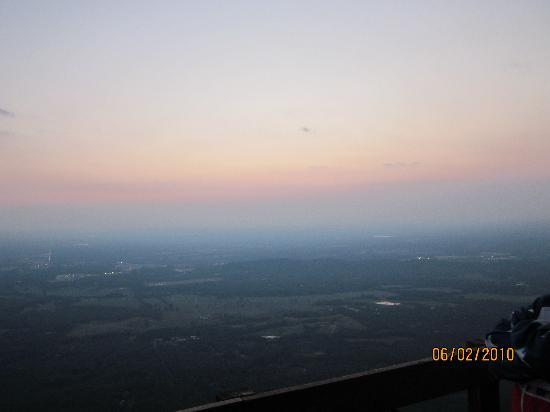 Fort Mountain State Park: the end of sun down from the look out
