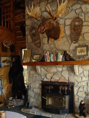 Moose Meadow Lodge : Living room