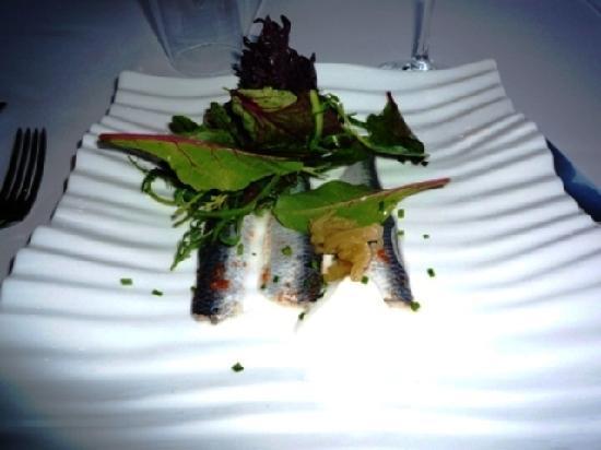 Restaurante Med: オードブル(鰯のマリネ)