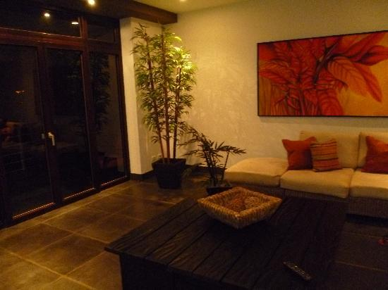 Los Altos Beach Resort & Spa: Living room