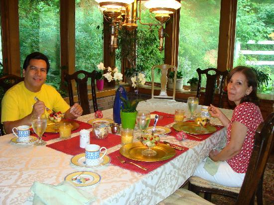 Rock Laurel Bed and Breakfast: Great Breakfast