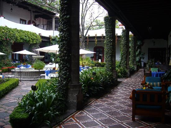 Restaurante Antiguo San Angel Inn: Patio del restaurante