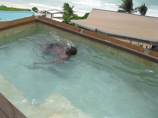 Rosewood Mayakoba: Relaxing in my privat plung pool