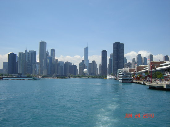 shoreline of Chicago