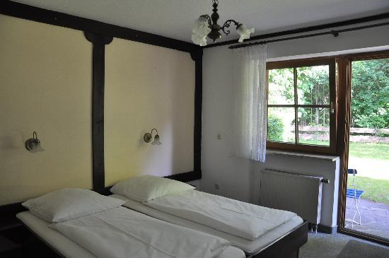 Hotel Garni Schlossblick : Our room