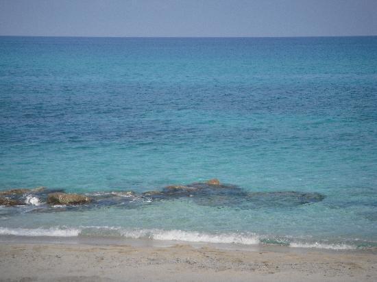Hotel Villaggio Roller Club: Il mare