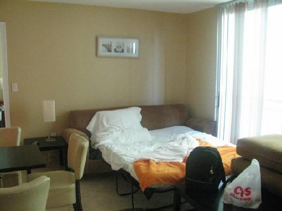 The Fritz Hotel: Salone con divano letto