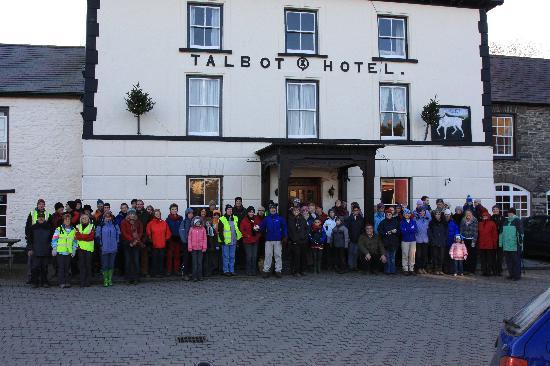 Tregaron, UK: Join the Tackle The Turkey Trek on Boxing Day