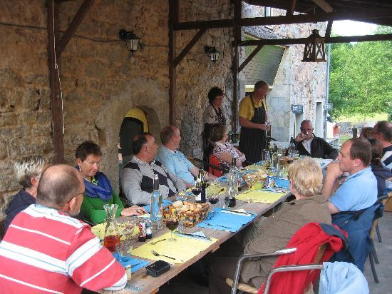Hotel Camping Sur Yonne : Diner