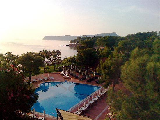 Club Med Palmiye: vue de l'hotel