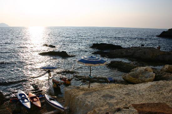 Ponza Island, Italia: Cala cecata